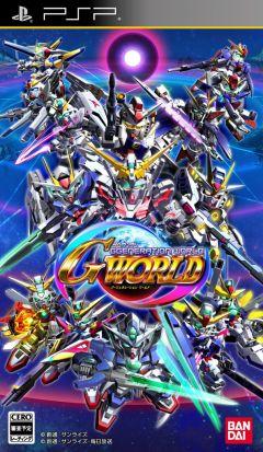 Jaquette de SD Gundam G Generation World PSP
