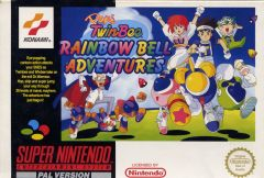 Jaquette de Pop'n TwinBee : Rainbow Bell Adventure Super NES