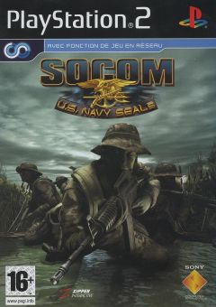 Jaquette de SOCOM : U.S. Navy Seals PlayStation 2