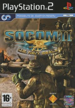 Jaquette de SOCOM II : U.S. Navy Seals PlayStation 2