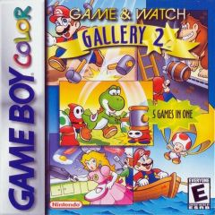 Jaquette de Game & Watch Gallery 2 Game Boy Color