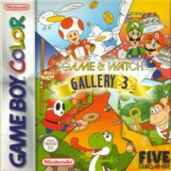 Jaquette de Game & Watch Gallery 3 Game Boy Color