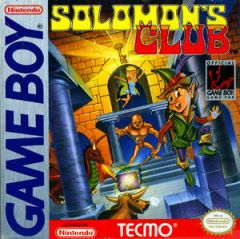 Jaquette de Solomon's Club Game Boy