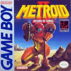 Jaquette de Metroid II : Return of Samus Game Boy