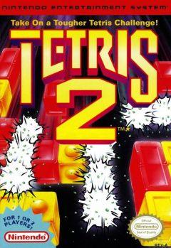 Jaquette de Tetris 2 NES