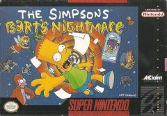 Jaquette de The Simpsons : Bart's Nightmare Super NES