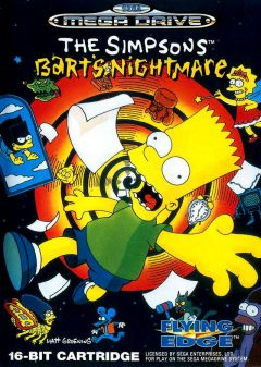 Jaquette de The Simpsons : Bart's Nightmare Megadrive
