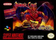 Jaquette de Demon's Crest Super NES