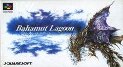 Jaquette de Bahamut Lagoon Super NES