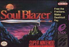 Jaquette de Soul Blazer Super NES