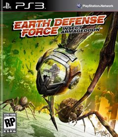 Jaquette de Earth Defense Forces : Insect Armageddon PlayStation 3
