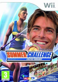 Jaquette de Summer Challenge Athletics Tournament Wii