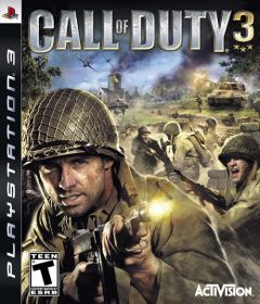 Jaquette de Call of Duty 3 : En marche vers Paris PlayStation 3