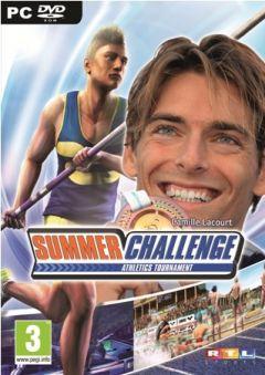 Jaquette de Summer Challenge Athletics Tournament PC