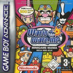 Jaquette de Wario Ware, Inc : Minigame Mania Game Boy Advance