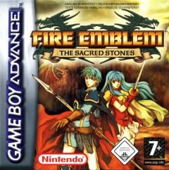 Jaquette de Fire Emblem : The Sacred Stones Game Boy Advance