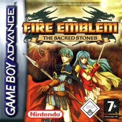 Jaquette de Fire Emblem : The Sacred Stones Game Boy Advance
