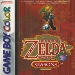 Jaquette de The Legend of Zelda : Oracle of Seasons Game Boy Color