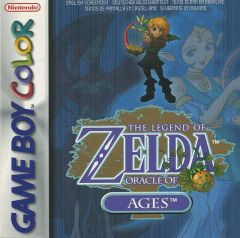Jaquette de The Legend of Zelda : Oracle of Ages Game Boy Color