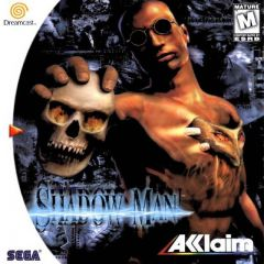 Jaquette de Shadow Man Dreamcast