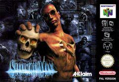 Jaquette de Shadow Man Nintendo 64