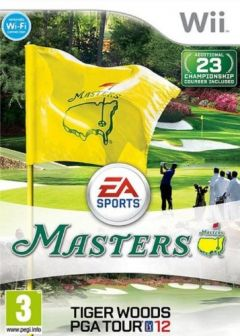 Jaquette de Tiger Woods PGA Tour 12 : The Masters Wii