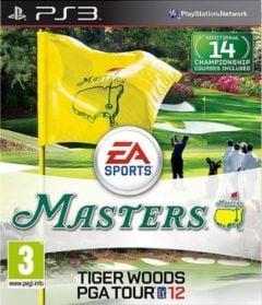 Jaquette de Tiger Woods PGA Tour 12 : The Masters PlayStation 3