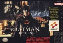 Jaquette de Batman Returns Super NES