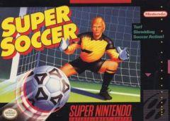 Jaquette de Super Soccer Super NES