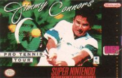 Jaquette de Jimmy Connors Pro Tennis Tour Super NES
