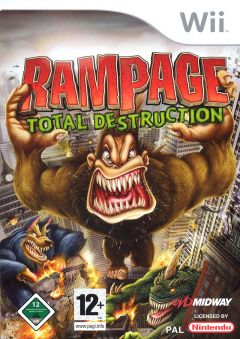 Jaquette de Rampage : Total Destruction Wii