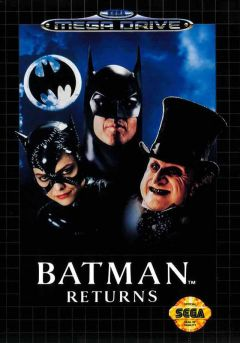 Jaquette de Batman Returns Megadrive