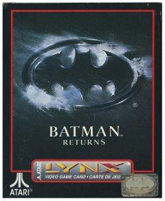 Jaquette de Batman Returns Lynx