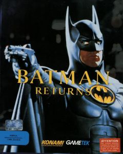 Jaquette de Batman Returns Amiga
