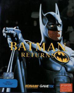 Jaquette de Batman Returns Amiga