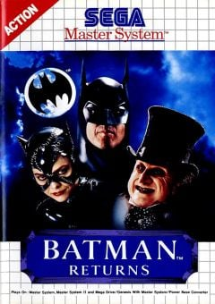 Jaquette de Batman Returns Master System