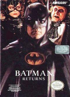 Jaquette de Batman Returns NES