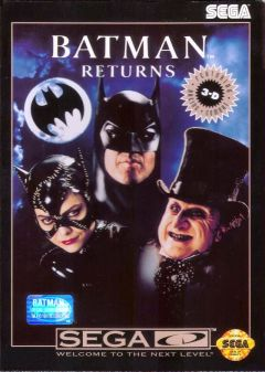 Jaquette de Batman Returns MegaCD