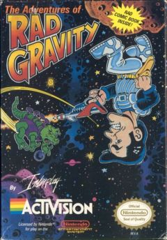 Jaquette de The Adventures of Rad Gravity NES