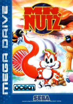 Jaquette de Mr. Nutz Mega Drive