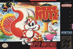 Jaquette de Mr. Nutz Super NES