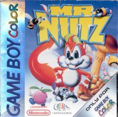 Jaquette de Mr. Nutz Game Boy Color