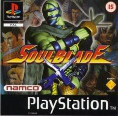 Jaquette de Soul Blade PlayStation