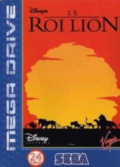 Jaquette de Le Roi Lion Mega Drive