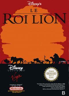 Jaquette de Le Roi Lion NES