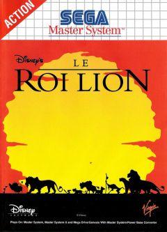 Jaquette de Le Roi Lion Master System