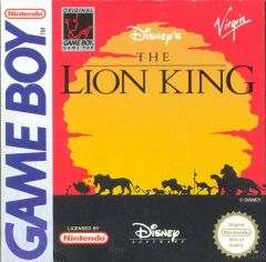 Jaquette de Le Roi Lion Game Boy