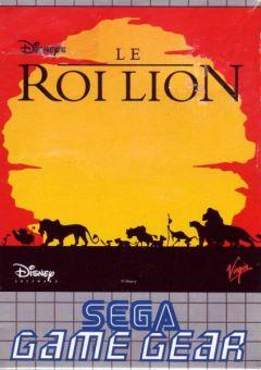 Jaquette de Le Roi Lion GameGear