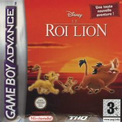 Jaquette de Le Roi Lion Game Boy Advance