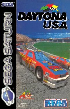 Jaquette de Daytona USA Sega Saturn